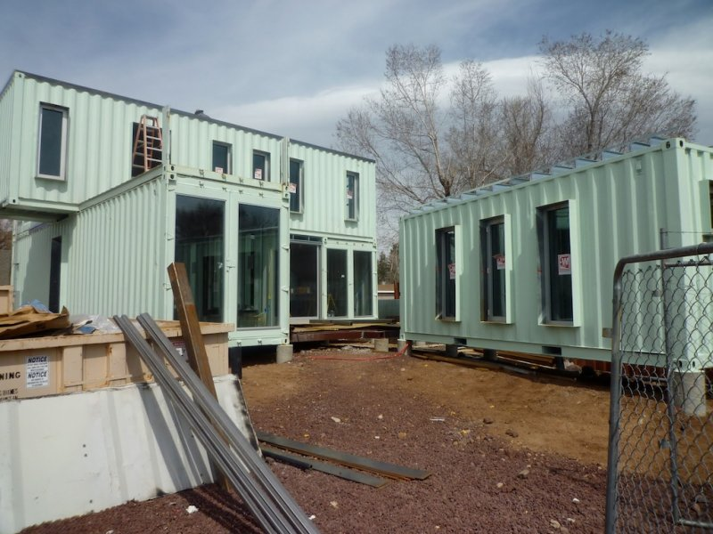 Incredible The Jones Glotfelty Shipping Container Home Flagstaff Home Remodeling Inspirations Propsscottssportslandcom