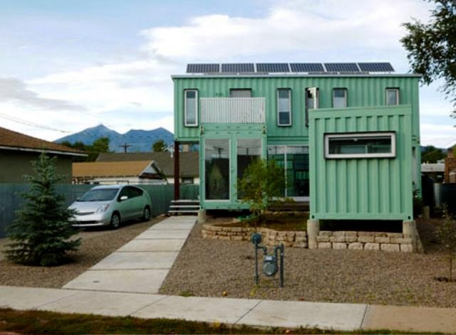 Sensational The Very Green Six Recycled Shipping Container Home Home Remodeling Inspirations Propsscottssportslandcom